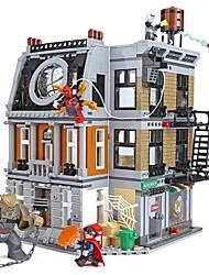 Недорогие -Конструкторы Конструкторы Игрушки Обучающая игрушка 1125 pcs Супер-герои Персонаж фильма совместимый Legoing Творчество Мальчики Девочки Игрушки Подарок
