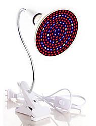 economico -1pc 40 W 1800 lm E26 / E27 Lampada in crescita 200 Perline LED SMD 5730 Spettro completo / Clip porta lampada flessibile Bianco caldo /