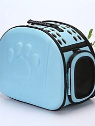 preiswerte -Hunde / Hasen / Katzen Transportbehälter &Rucksäcke Haustiere Träger Tragbar / Mini / Reise Solide Blau / Rosa / Schwarz