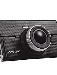 Недорогие -Anytek G68 1080p Ночное видение / Двойной объектив Автомобильный видеорегистратор 170° Широкий угол 4 дюймовый IPS Капюшон с Ночное