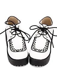 economico -Scarpe Lolita Classica e Tradizionale / Punk Punk / Elegante Polacche Cappelli Monocolore 8 cm CM Bianco Per PU