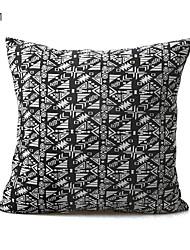 cheap -1 pcs Textile / Cotton / Linen Pillow Cover / Pillow Protector / Pillow Case, Damask / Plain Modern / Contemporary