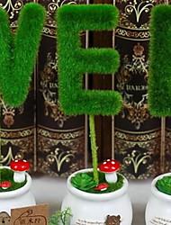 abordables -Flores Artificiales 1 Rama Sencilla Elegante / Rústico Plantas Flor de Mesa