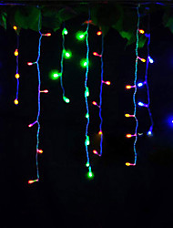 cheap -4m String Lights 96 LEDs Dip Led Warm White / Cold White / Red Decorative / Linkable 220-240 V 1pc