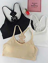 cheap -Women's Full Coverage Bras Strapless & Multi-Way - Embroidered