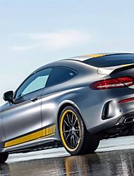 abordables -Jaune Autocollant pour auto Sportif Autocollants de porte Non spécifié Autocollants