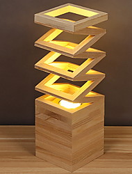 baratos -Moderno / Contemporâneo Decorativa Luminária de Mesa Para Madeira / Bambu 220-240V