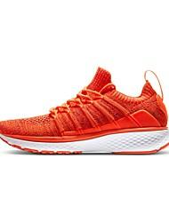 billiga Sport och friluftsliv-Xiaomi Dam Sneakers Gummi Motion & Fitness / Gång / Löpning Lättvikt, Anti-Skakning, Stötdämpande Stickad Vit / Orange