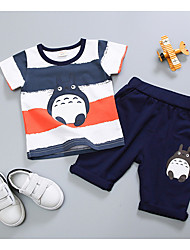 cheap -Baby Boys' Geometric Short Sleeve Clothing Set