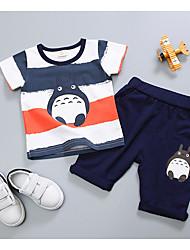 cheap -Baby Boys' Geometric Short Sleeve Clothing Set