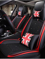 economico -ODEER Cuscini per sedile auto Coprisedili Nero - rosso Tessile / Pelliccia artificiale Normale for Universali Tutti gli anni Tutti i modelli