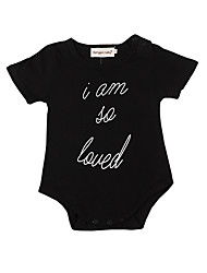 cheap -Baby Boys' Vintage / Basic Holiday Print Short Sleeves Bodysuit / Toddler