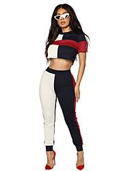 economico -Per donna Canotte Monocolore Pantalone