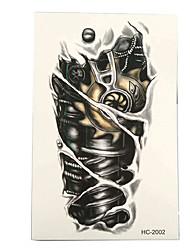 abordables -Adhesivo / Pegatina tatuaje brazo Los tatuajes temporales 3 pcs Series de Tótem Artes de cuerpo