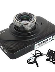 Недорогие -Anytek X18 1080p Ночное видение / Двойной объектив Автомобильный видеорегистратор 130 градусов Широкий угол 3 дюймовый Капюшон с G-Sensor