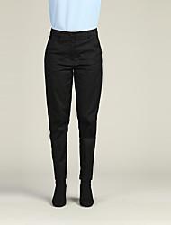 economico -Per donna Essenziale Chino / Pantaloni della tuta Pantaloni - Tinta unita