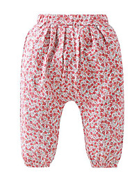 cheap -baby girls' basic print leggings