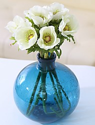 cheap -Artificial Flowers 3 Branch Classic / Single Rustic / Simple Style Lilies / Eternal Flower Tabletop Flower