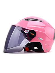 abordables -YEMA 326 Casque Bol Adultes Unisexe Casque de moto Antichoc / Anti UV / Coupe-vent