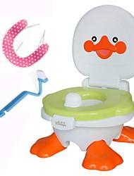 Недорогие -Сиденье для унитаза Для детей / Многофункциональный / с щетка для очистки Современный PP / ABS + PC 1шт - Шапочка для душа Аксессуары для туалета / Украшение ванной комнаты