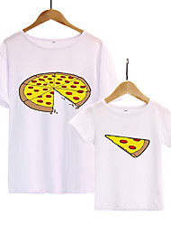 cheap -Daddy and Me Geometric Short Sleeve Tee