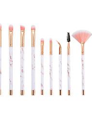 abordables -11pcs Pinceaux à maquillage Professionnel ensembles de brosses Fibre Nylon Economique / Doux Plastique