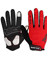 abordables -ZOLI Doigt complet Unisexe Gants de moto Tissu Séchage rapide / Respirable / Ecran tactile