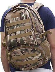 cheap -55 L Hiking Backpack - Quick Dry, Wearable Outdoor Hiking, Camping Nylon Camouflage
