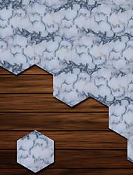 Недорогие -Декоративные наклейки на стены - 3D наклейки Геометрия / 3D Гостиная / Спальня / Ванная комната