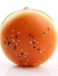 cheap -Squeeze Toy / Sensory Toy / Stress Reliever Hamburger Stress and Anxiety Relief / Decompression Toys Poly urethane 1 pcs Children's All Gift