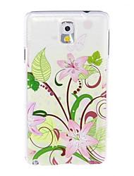 お買い得  -ケース 用途 Samsung Galaxy Samsung Galaxy Note パターン バックカバー 猫 TPU のために Note 3