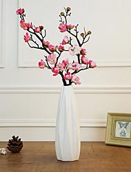 Недорогие -Искусственные Цветы 1 Филиал Классический Modern слива Букеты на стол
