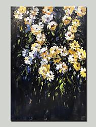 baratos -mintura® pintados à mão flores pintura a óleo sobre tela moderna arte abstrata retrato de parede para decoração de casa pronto para pendurar
