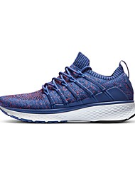 abordables -Xiaomi Homme Baskets Gomme Exercice & Fitness / Marche / Course / Running Léger, Anti-Shake, Coussin Tricot Noir / Bleu / Gris