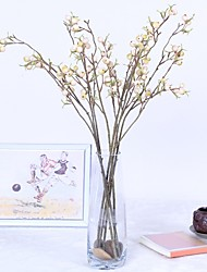cheap -Artificial Flowers 1 Branch Classic / Single Simple Style / Modern Fruit / Christmas Tree / Eternal Flower Tabletop Flower