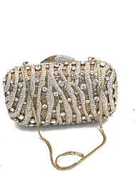 cheap -Women's Bags Glasses Evening Bag Crystals Blue / Gold