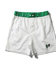 abordables -Hombre Tallas Grandes Chinos Pantalones - A Rayas