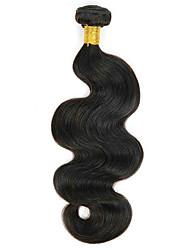 cheap -Brazilian Hair Wavy Human Hair Extensions 1 Bundle 8-28 inch Human Hair Weaves Machine Made Extention Natural Black Human Hair Extensions All