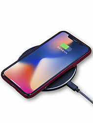 abordables -Chargeur Sans Fil Chargeur USB Universel Chargeur Sans Fil 1 Port USB 1 A / 1.5 A DC 9V / DC 5V pour iPhone X / iPhone 8 Plus / iPhone 8