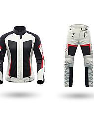 economico -DUHAN 186 Abbigliamento moto Giacche Pants SetforDa donna Poliestere / Tessuto retato traspirante Estate Impermeabile / comodo