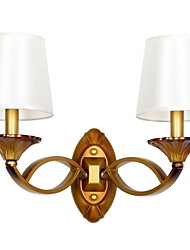 cheap -Cool Vintage Wall Lamps & Sconces Living Room / Hallway Metal Wall Light 220-240V