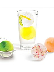 Недорогие -4шт большой размер ледяной формы плесени виски фруктовый кубик льда