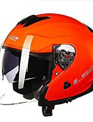 お買い得  -LS2 OF521 ハーフヘルメット 大人 男女兼用 オートバイのヘルメット ダンピング / 防水 / 耐摩耗性
