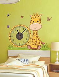 cheap -Modern / Contemporary Plastic Irregular Indoor,AA Batteries Powered Wall Clock