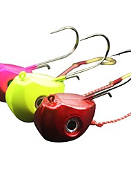 economico -1 pcs pc Esca Jig Head Fili / Metallico Pesca di mare / Pesca a mosca / Pesca a mulinello