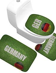 abordables -Décorations de vacances Coupe du monde Objets décoratifs Conçu spécial / Gluant / Couvrant Vert 3pcs