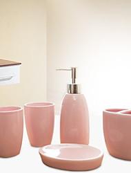 Недорогие -Набор аксессуаров для ванной Новый дизайн Современный Керамика 5 шт. - Ванная комната Односпальный комплект (Ш 150 x Д 200 см)