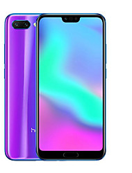 "abordables -Huawei Honor 10 Global Version 5.6-6.0 pouce "" Téléphone Portable (4GB + 128GB 20+16 mp Hisilicon Kirin 970 3400 mAh mAh)"