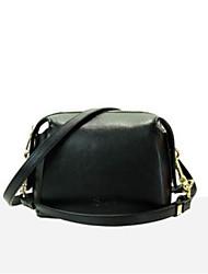 baratos -sacos de mulheres bolsa de ombro de couro de napa zíper corando rosa / azul / preto