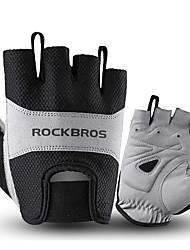 cheap -ROCKBROS Half-finger Unisex Motorcycle Gloves Cloth / Spandex Lycra Breathable / Non-slip